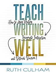 teach writing well culham